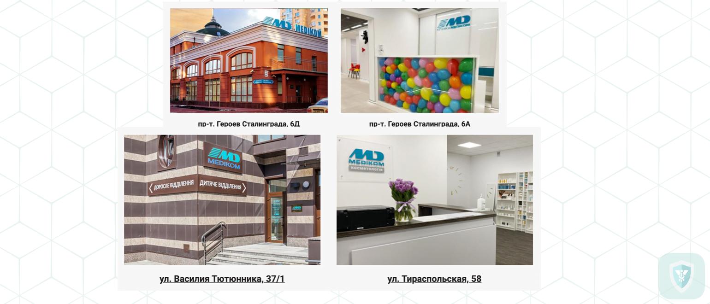 Медицинская клиника Medicom Киев